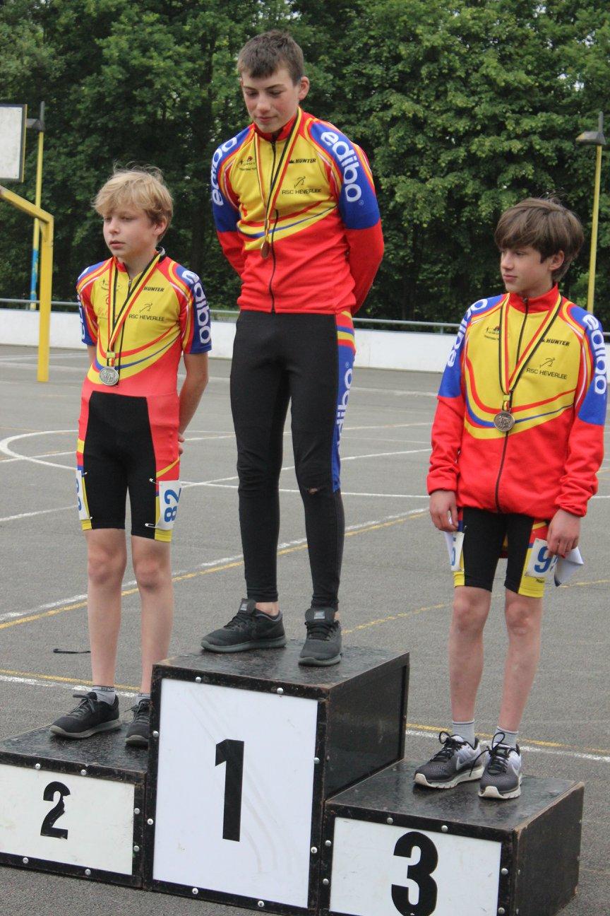 Cadetten jongens piste - 1000m