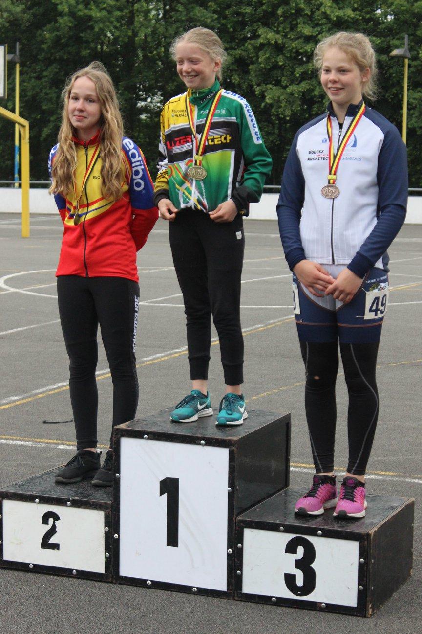 Cadetten meisjes piste - 1000m