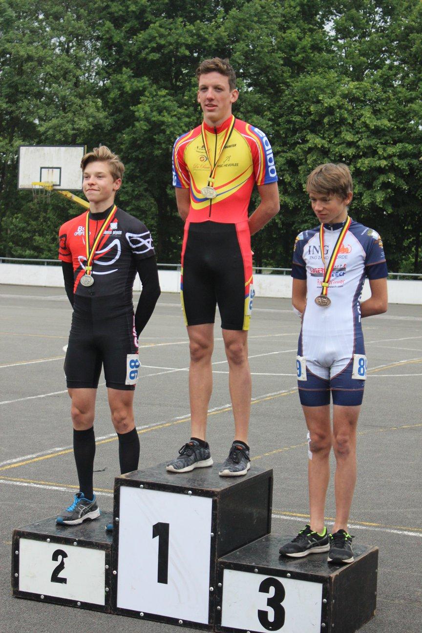 Jeugd Jongens piste - 1000m