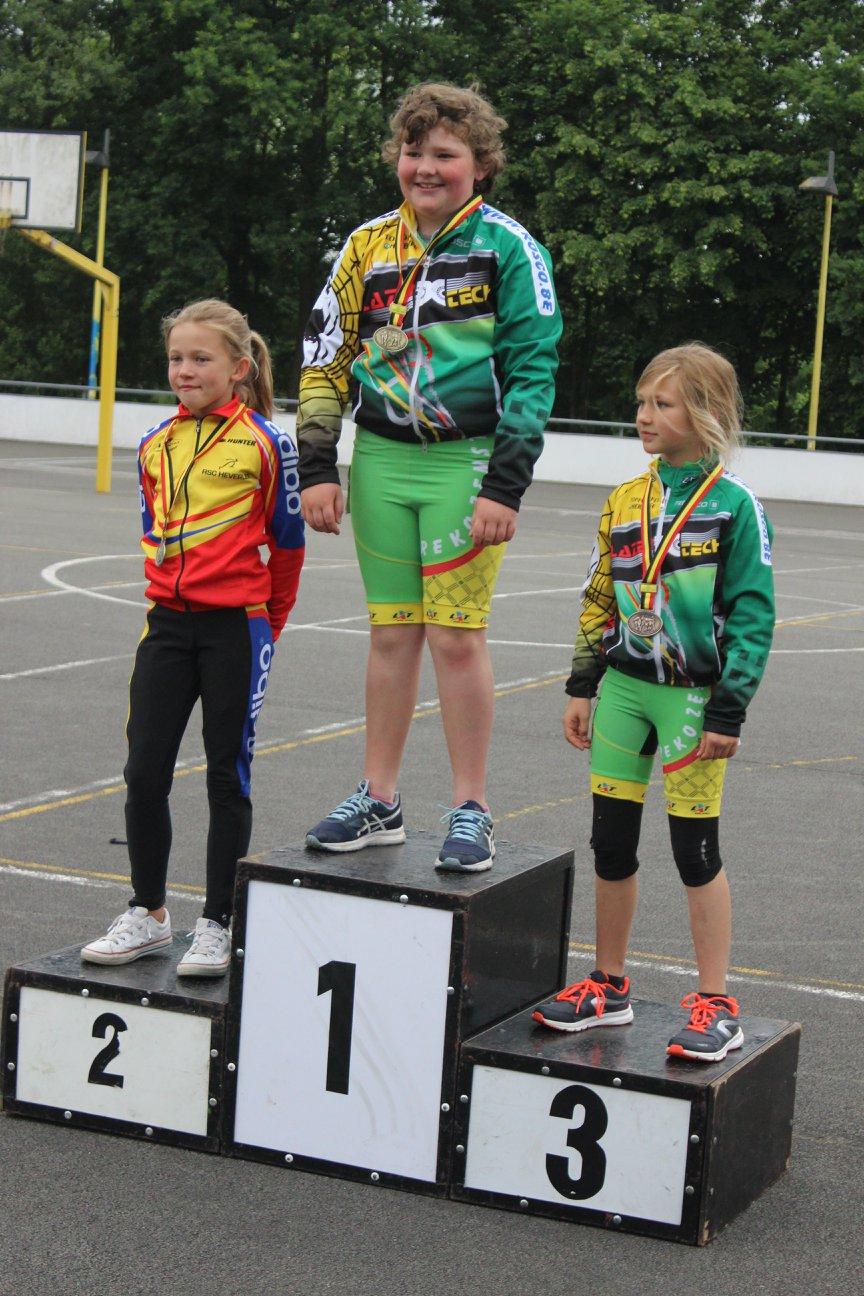 Pupillen meisjes piste - 1500m