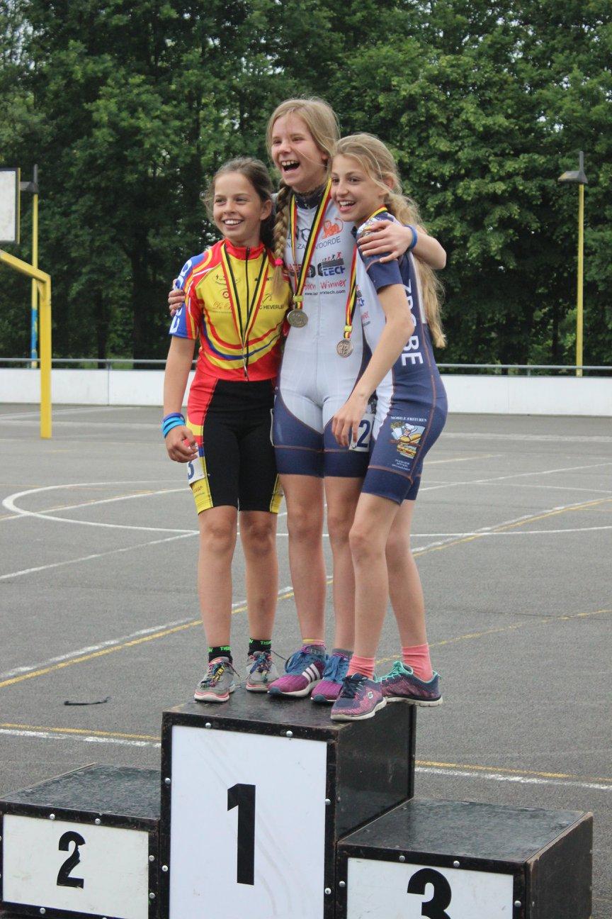 Scholieren meisjes piste - 1000m