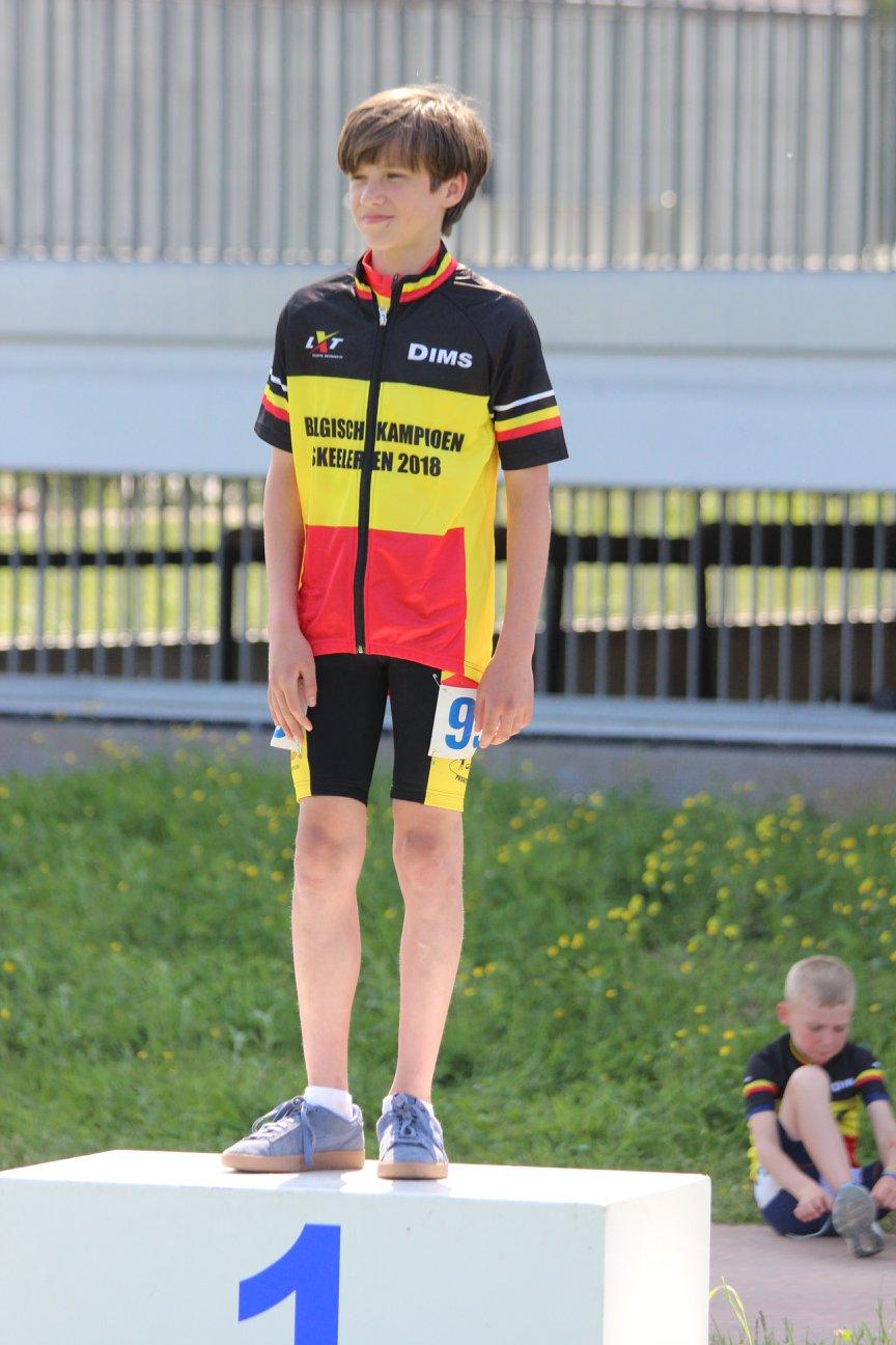algemeen Belgisch Kampioen Cadetten jongens 2018