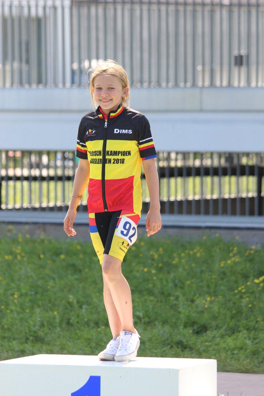 algemeen Belgisch Kampioen Pupillen meisjes 2018